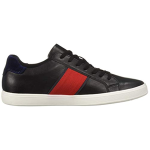 Aldo Men's Cowien Black Synthetic Smooth Sneakers Sz 8-infinitote.com