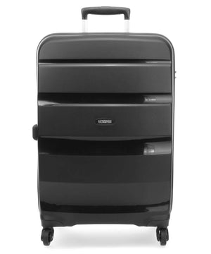 "American Tourister 29"" Bon Air Spinner Hardshell Luggage Black-infinitote.com"