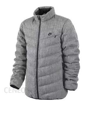Nike Men's Cascade 700 Down Filled Coat Jacket Grey Sz M-infinitote.com