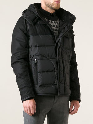 Moncler Men's 'Ryan' Giubbotto Padded Jacket Black Sz 2-infinitote.com