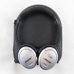Bose QC3 Quiet Comfort 3 Noise Cancelling Headphones - Silver Headsets