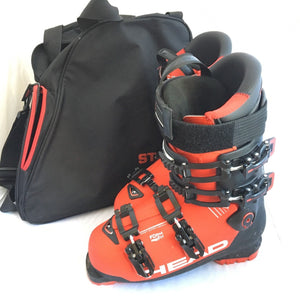 "Head Advant Edge 105 Ski Boots Men's Red & Black Shoes Snowboarding 11.5"" Sports Equipment"