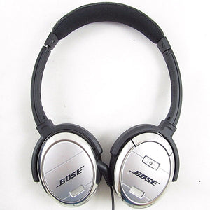 Bose QuietComfort 3 QC3 Noise Cancelling Headphones - Black