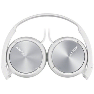 Great Condition Sony MDR-ZX310 ZX Series Folding Stereo Headphones - White