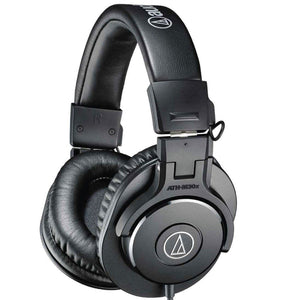 Audio-Technica ATH-M30x Professional Monitor Headband Headphones - Black