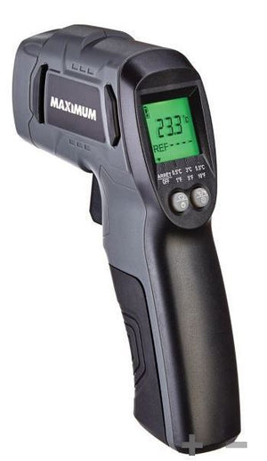 MAXIMUM Infrared Thermometer - Laser Thermometer Gun
