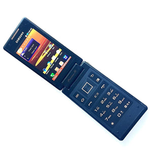Samsung Galaxy FLIP DUAL SIM SCH-W899 Black/Copper (Unlocked) For Parts