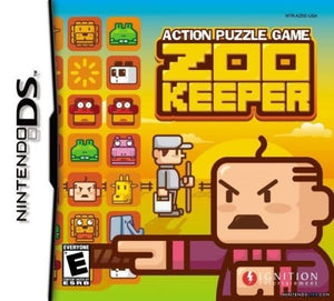 Zoo Keeper (Nintendo DS, 2004) - JAPANESE VERSION - GAME ONLY