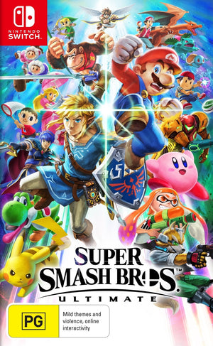 Super Smash Bros. Ultimate (Nintendo Switch, 2018) GAME ONLY-infinitote.com