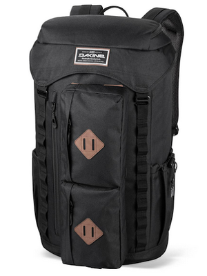 Dakine Compass 38L Travel Laptop Backpack Black-infinitote.com