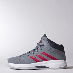 adidas Boys' Kids' Isolation 2 Shoes Sneakers Grey/Onix/Scarlet Red Sz 12K-infinitote.com