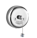 Retractable Clothesline silver