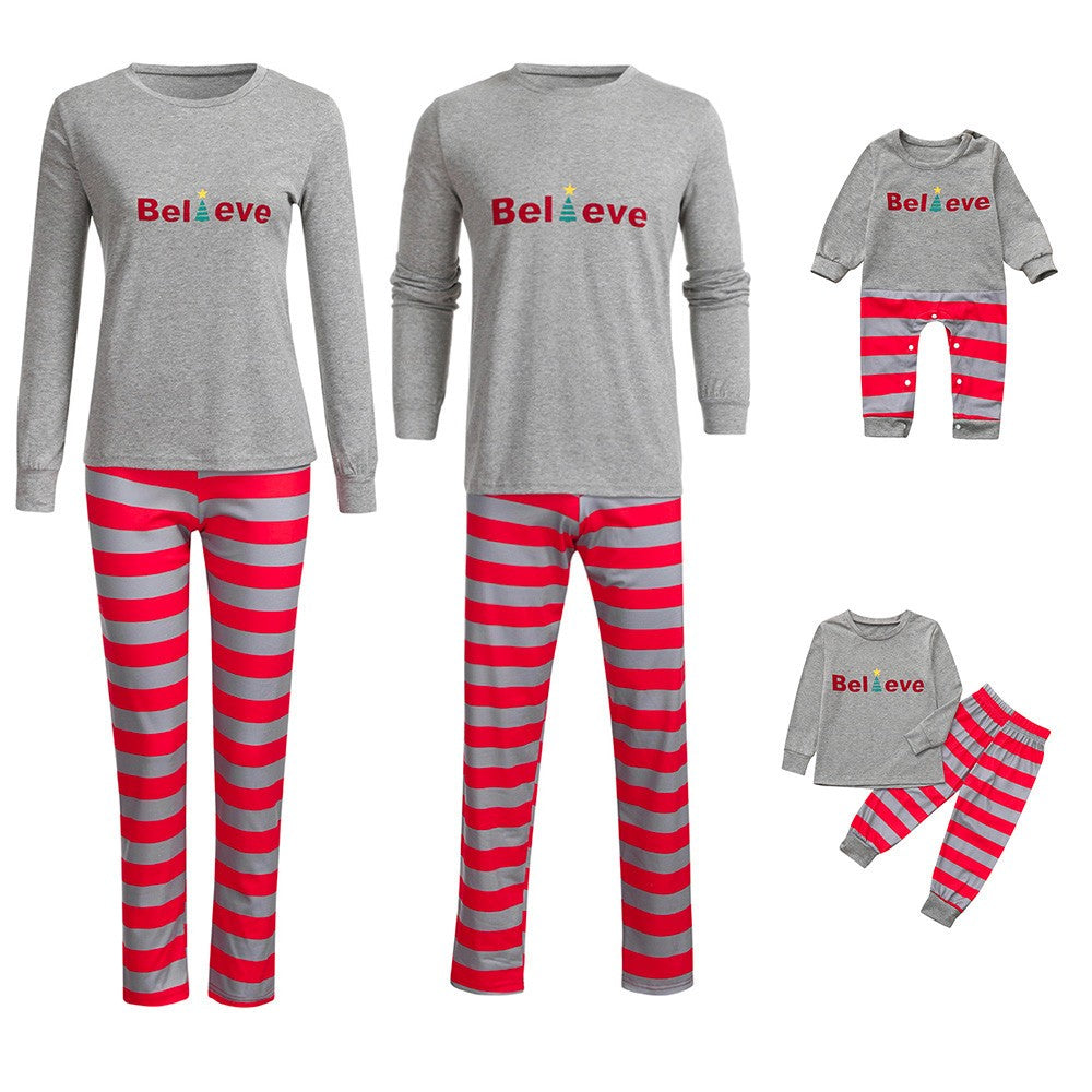Family Pajamas Sleepwear Matching Christmas Sets