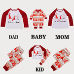 Family Pajamas Sleepwear Christmas Outfits