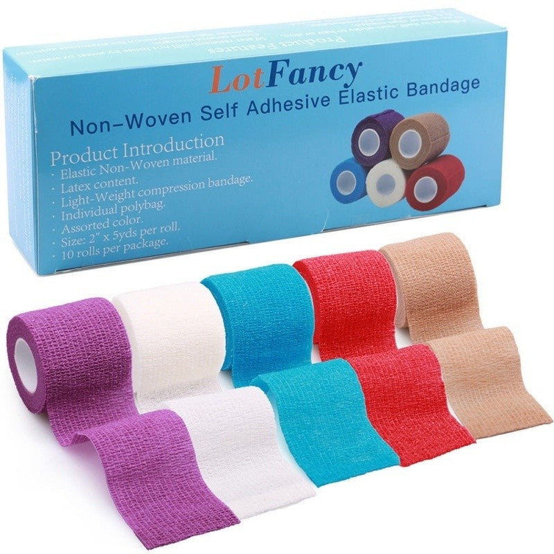 Elastic Adherent Tape First Aid Wrap