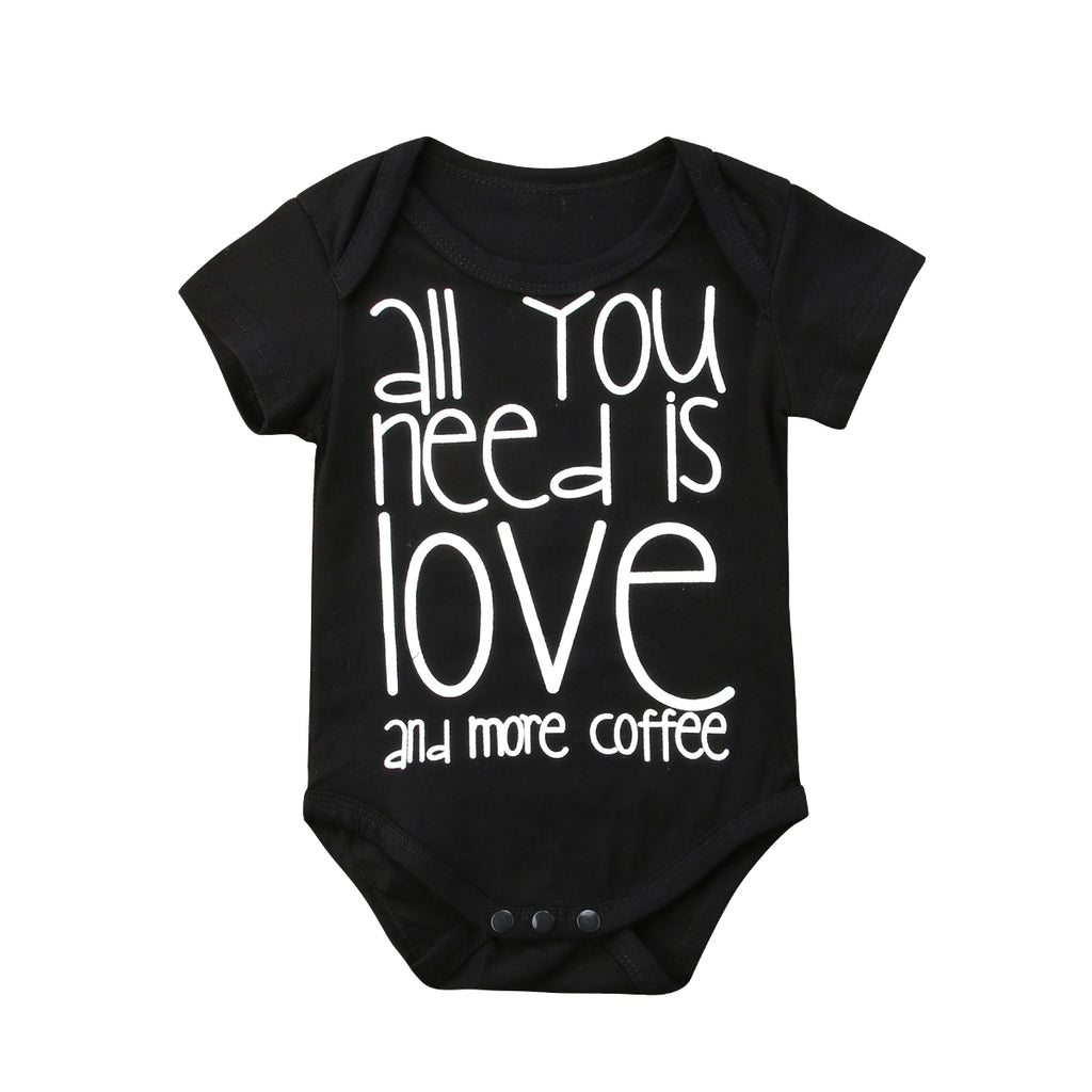 Letter Infant Baby Jumpsuit