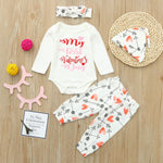 Newborn Infant Boy Girl Valentine Outfits