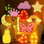 Lovely LED Night Lights Kids