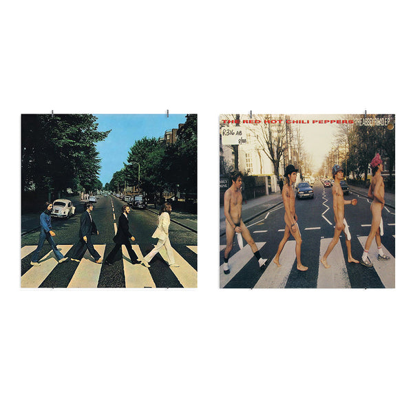 Lookalike pochette vinyle Abbey Road