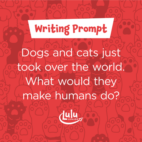 Lulu Junior Writing Prompt Cats and Dogs