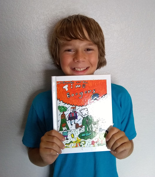 LuluJunior Author of the Month, Aidan Peay!