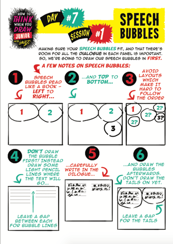 How To Create A Comic Book Page Example