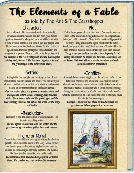 Fables Contest Rules