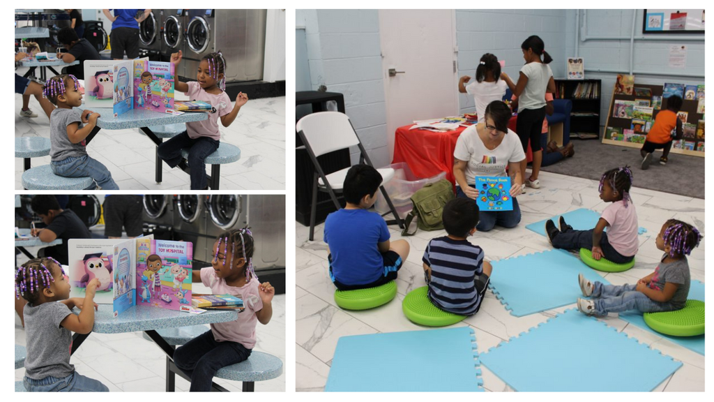 Literacy in Laundromats - A New Frontier in Learning Gallery