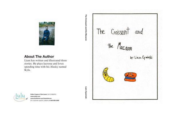 Lulu Junior Author Of The Month - Liam Cywinski Book Cover