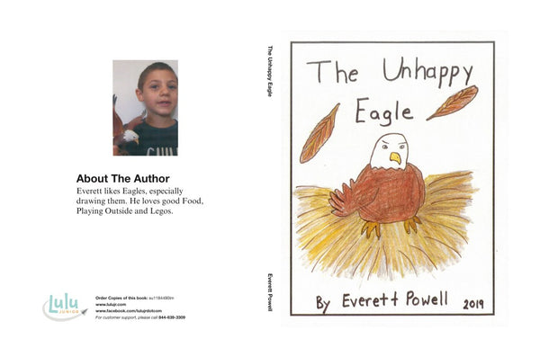 Lulu Junior Author of the Month - Everett Powell Book Cover