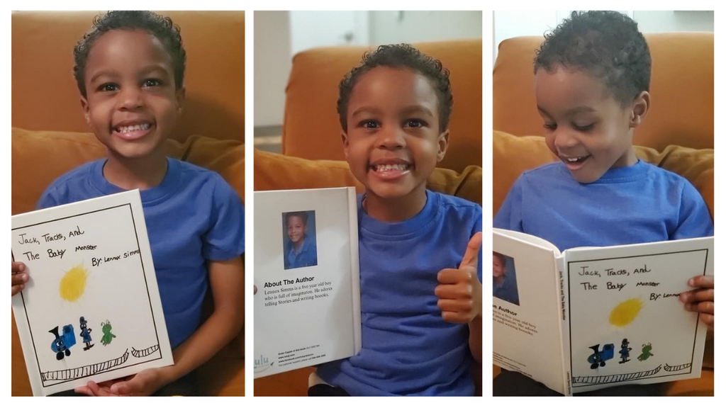 Lulu Junior Author of the Month - Lennox Simms Gallery
