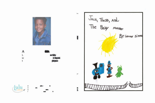 Lulu Junior Author of the Month - Lennox Simms Book Cover