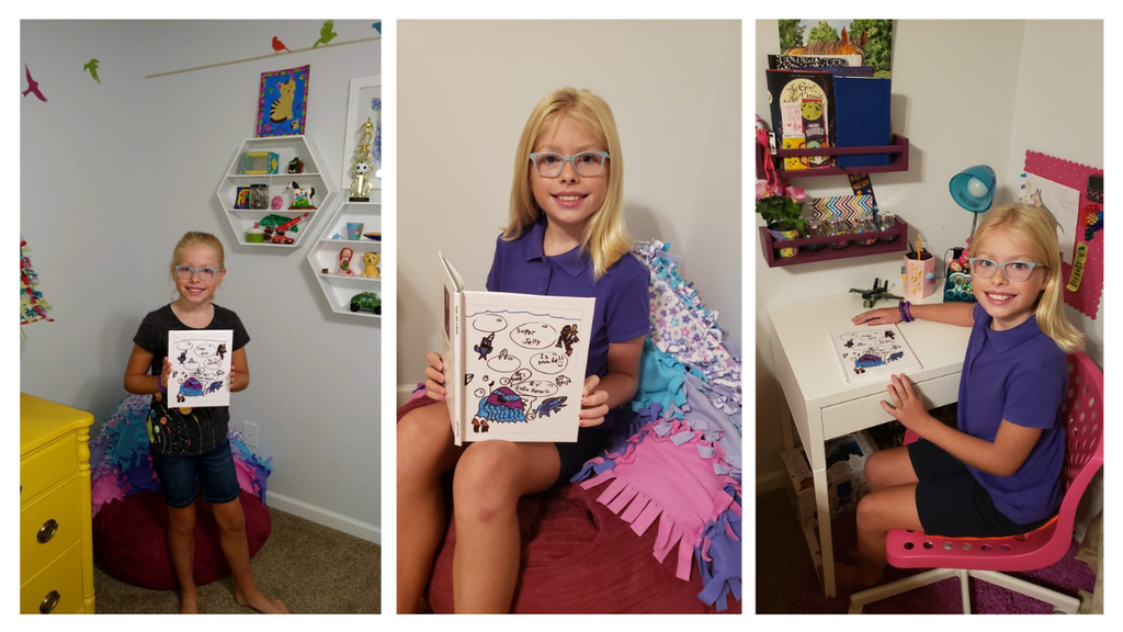 Lulu Junior Author of the Month - Lydia Horvath Gallery