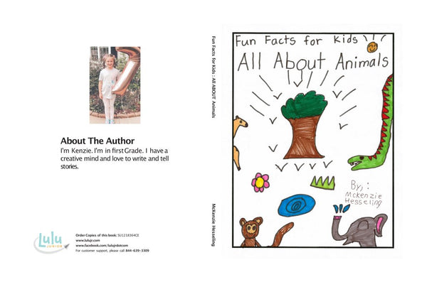 Lulu Junior Author of the Month - McKenzie Hesseling Book Cover