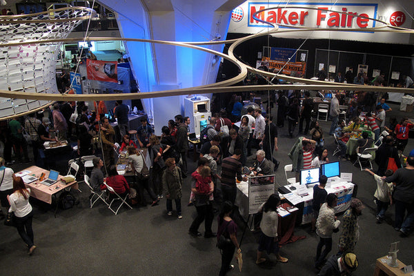 Maker Fair image by Nick Normal