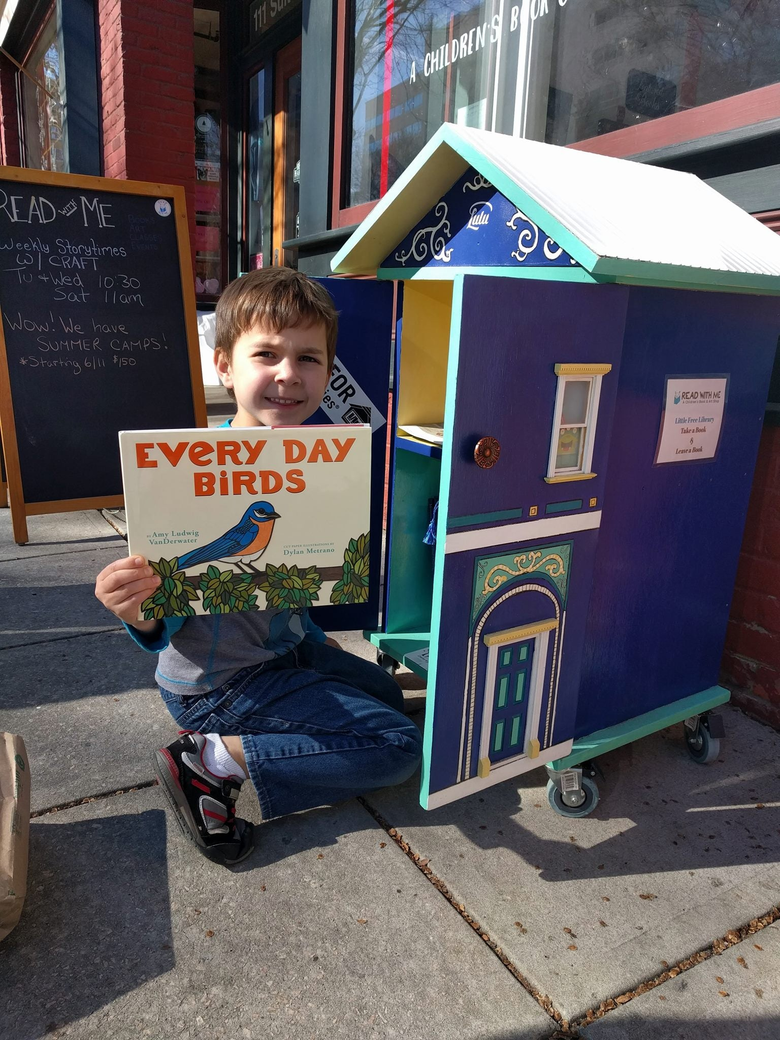 Little Free Library in Raliegh NC