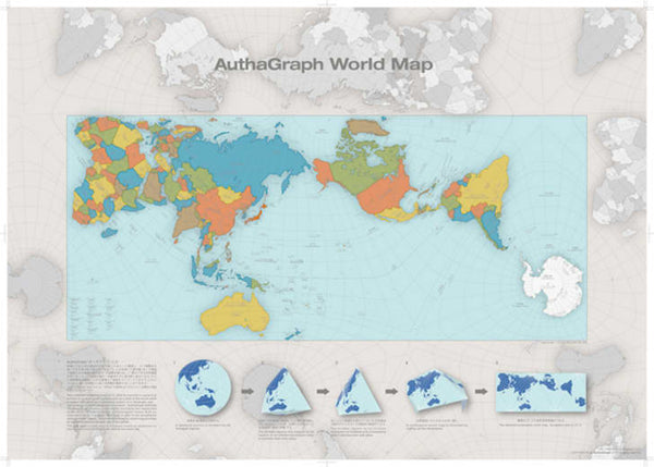 More accurate world map