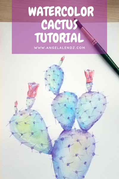 Tutorial: EASY Prickly Pear Cactus