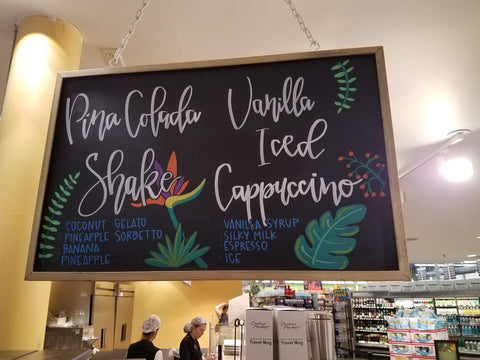 Tropical Drinks Chalkboard
