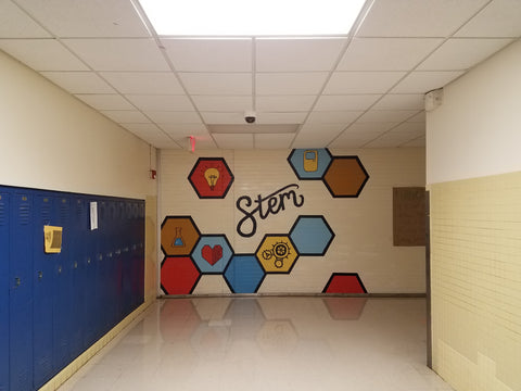 STEM Mural High School