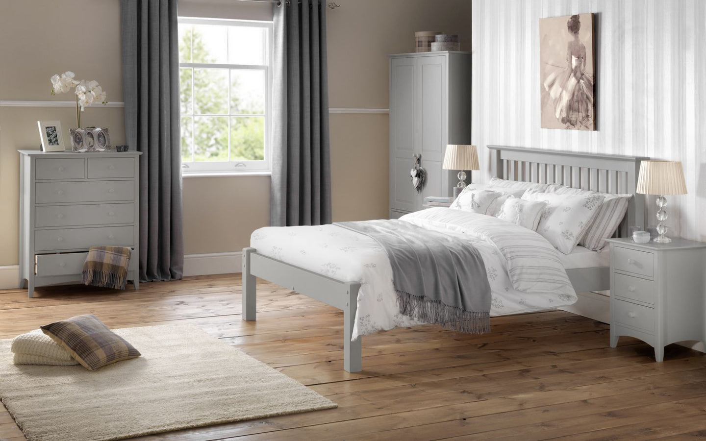 Cameo Bedroom - Dove Grey