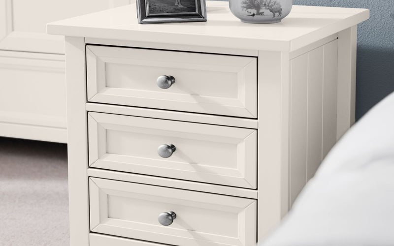 MAINE BEDSIDE - SURF WHITE