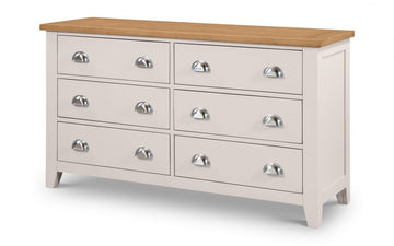 RICHMOND 6 DRAWER CHEST - ELEPHANT GREY