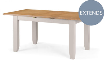 RICHMOND EXTENDING TABLE - ELEPHANT GREY