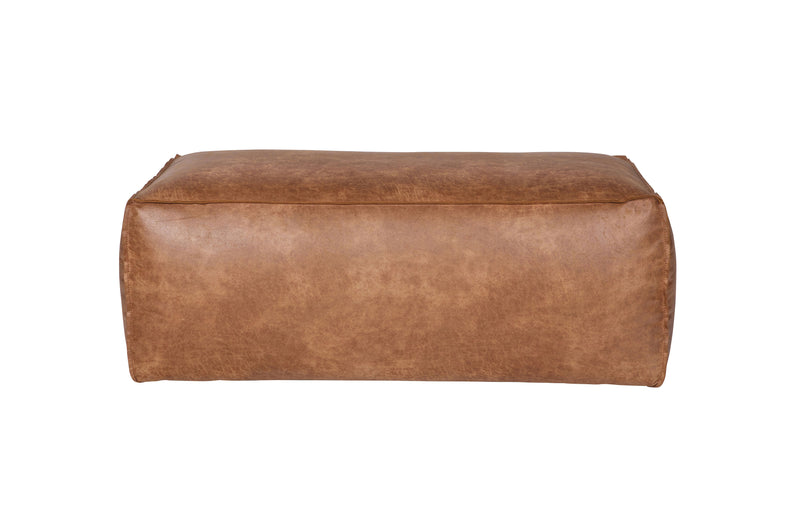 Rodeo Pouffe in Cognac