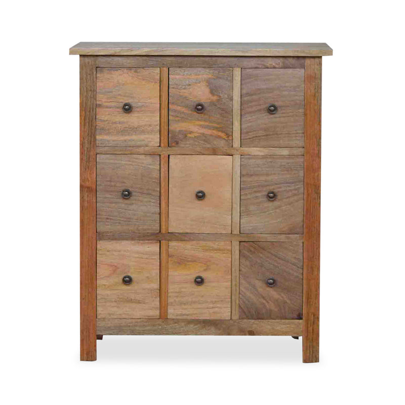Handmade Solid Wood Chest of Drawers