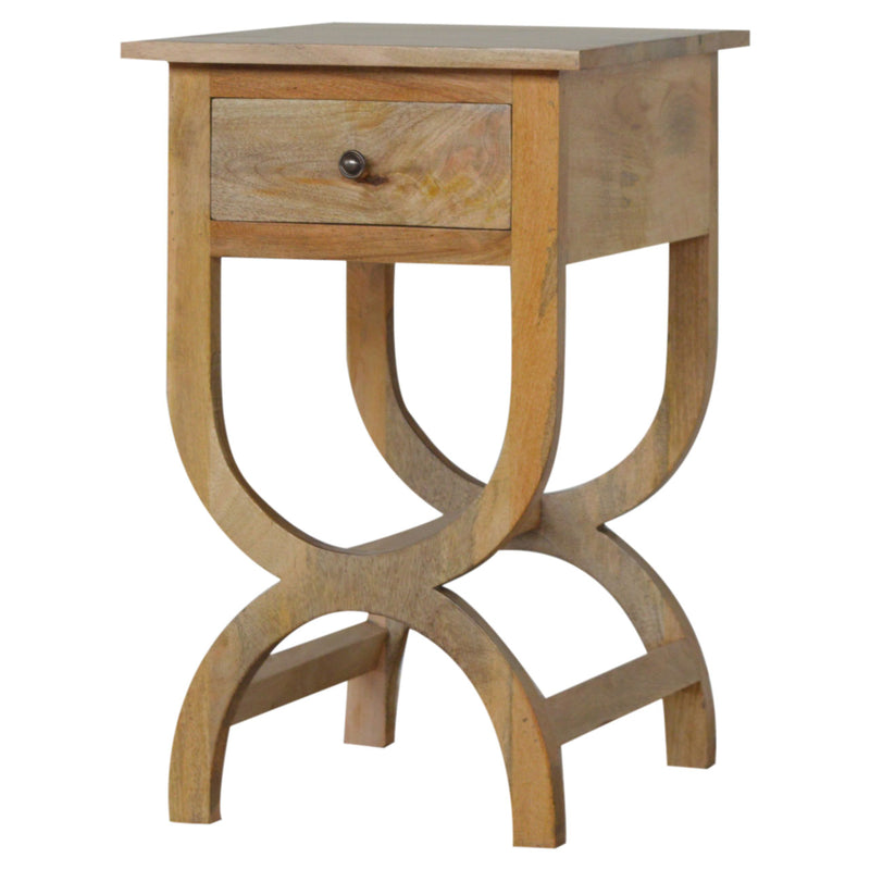 Handmade Mango Wood Side Table