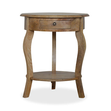 French Style Wood Side Table