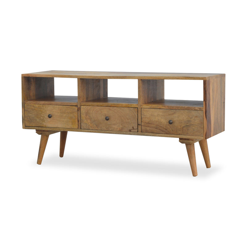 Scandinavian Style Wood TV Stand