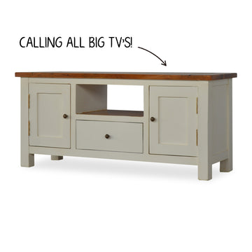 Contemporary Solid Wood TV Stand
